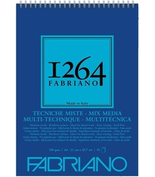 Fabriano - Fabriano 1264 Mix Media Defter 300 gr. 30 Yp. A4